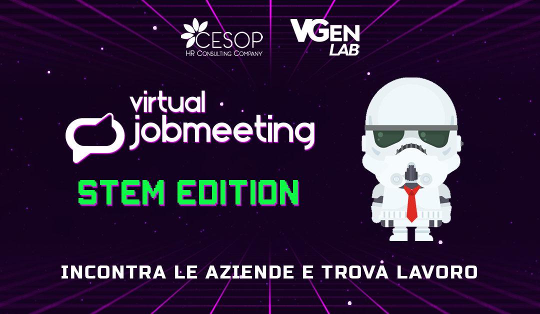 16 lug, Virtual Job Meeting | STEM edition